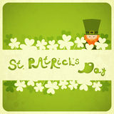 Dia de St.Patricks Imagens de Stock Royalty Free