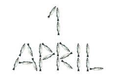 Dia de tolo de abril Foto de Stock
