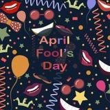 Dia de tolo de abril Imagem de Stock Royalty Free