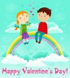 Dia de Valentim ilustração royalty free