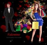 Dia de Valentim. Imagem de Stock Royalty Free