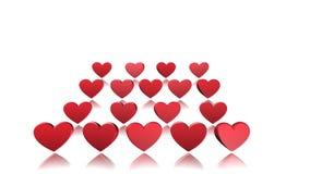 Dia de Valentim, animação, fundo video estoque