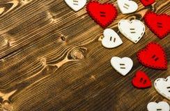 Dia de Valentim denominado mínimo flatlay Romance do amor Cumprimento romântico Fundo dos corações do dia de Valentim Quadro feit foto de stock royalty free