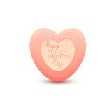 Dia de Valentim feliz Imagem de Stock
