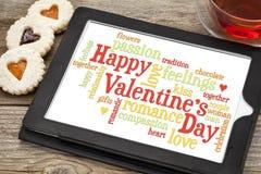 Dia de Valentim feliz Imagens de Stock