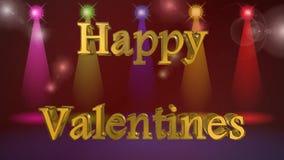 Dia de Valentim, a melhor 3D ilustração, a melhor animação vídeos de arquivo