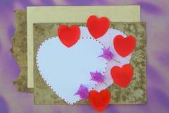 Dia de Valentim para fazer a lista Imagem de Stock Royalty Free