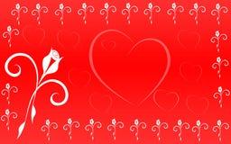 Dia de Valentin ilustração do vetor