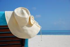 Dia de verão doce na praia fotografia de stock