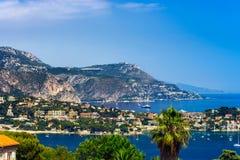 Dia de verão em agradável, França, Cote d'Azur Imagem de Stock Royalty Free