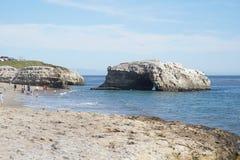 Dia de verão em Santa Cruz Imagem de Stock Royalty Free