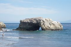 Dia de verão em Santa Cruz Fotos de Stock Royalty Free