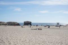 Dia de verão em Santa Cruz Fotografia de Stock Royalty Free