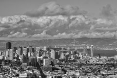 Dia de verão no San Francisco California fotos de stock royalty free