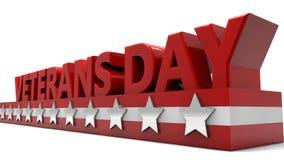 Dia de veteranos ilustração royalty free