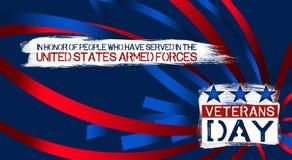 Dia de veteranos Imagem de Stock