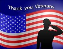 Dia de veteranos Imagem de Stock Royalty Free
