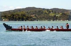 Dia de Waitangi e festival - feriado 2013 de Nova Zelândia imagens de stock