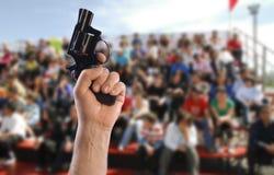 Dia dei calci a fuori Immagini Stock Libere da Diritti