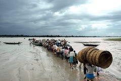 Dia-a-dia de Sundarban-India Fotos de Stock