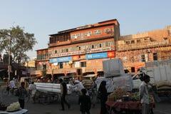 Dia a dia em Jaipur fotografia de stock