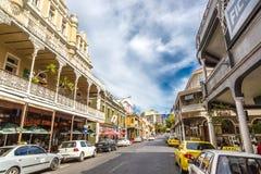 Dia a dia na cidade de Cape Town Imagem de Stock
