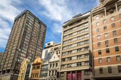 Dia a dia na cidade de Cape Town Fotos de Stock