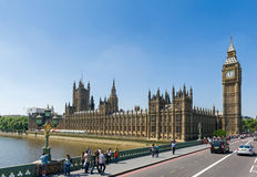 Dia a dia na rua de Londons Fotos de Stock Royalty Free