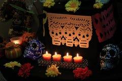 Dia do altar e das decorações inoperantes do picado do papel fotos de stock royalty free
