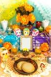 Dia do altar inoperante (Dia de Muertos) fotos de stock royalty free