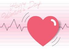 Dia do amor do ` s do Valentim foto de stock