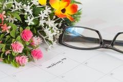 Dia do casamento do lembrete Imagens de Stock
