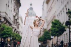 Dia do casamento em Budapest Imagem de Stock