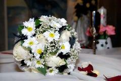 Dia do casamento feliz Fotos de Stock Royalty Free