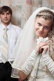 Dia do casamento feliz Imagens de Stock