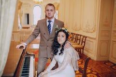 Dia do casamento HD Imagens de Stock Royalty Free
