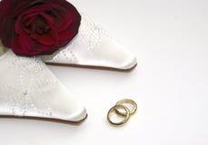 Dia do casamento luxuoso Fotografia de Stock Royalty Free