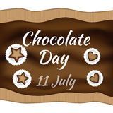 Dia do chocolate Foto de Stock