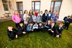 Dia do conhecimento em Rússia Foto de Stock Royalty Free