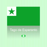 Dia do esperanto Foto de Stock