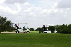 Dia do golfe Imagens de Stock Royalty Free