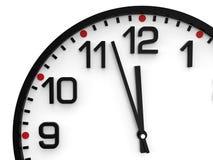 Dia do julgamento final 23 do tempo do mundo 57 horas Imagens de Stock