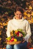 Dia do outono da ação de graças Foto de Stock