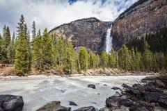 Dia do outono em Yoho National Park em Canadá Fotos de Stock Royalty Free
