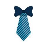 dia do pai elegante do bowtie da gravata Fotos de Stock