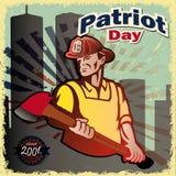 Dia do patriota Imagem de Stock