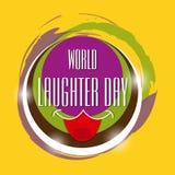 Dia do riso do mundo Foto de Stock Royalty Free