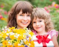 Dia do ` s da mãe Fotografia de Stock