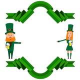 Dia do ` s de Patrick ilustração royalty free
