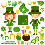 Dia do ` s de St Patrick Foto de Stock Royalty Free